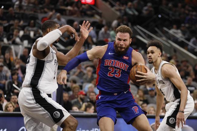 Detroit Pistons vs. San Antonio Spurs - 12/1/19 NBA Pick, Odds, and Prediction
