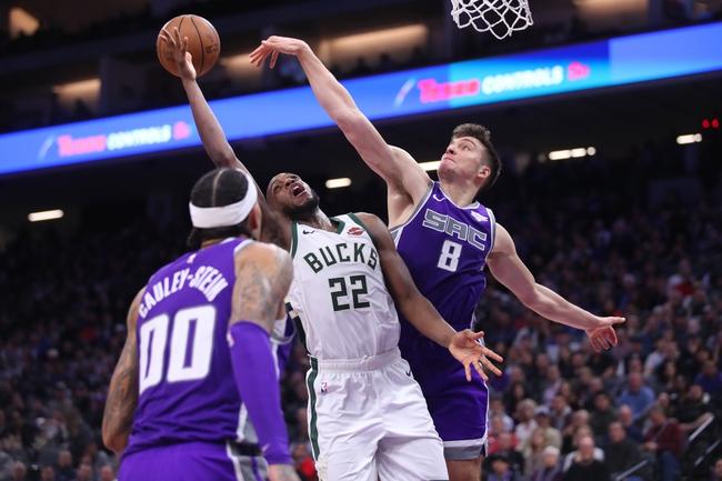 Sacramento Kings vs. Milwaukee Bucks - 1/10/20 NBA Pick, Odds, and Prediction