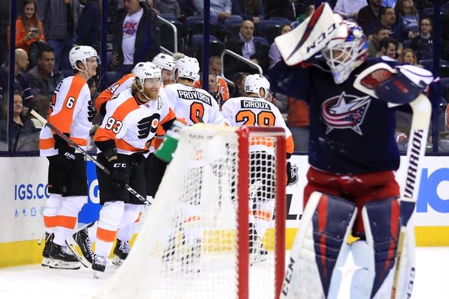Philadelphia Flyers vs. Columbus Blue Jackets - 10/26/19 NHL Pick, Odds, and Prediction