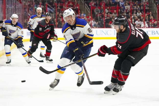St. Louis Blues vs. Carolina Hurricanes - 2/4/20 NHL Pick, Odds, and Prediction