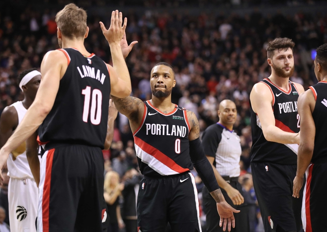 Portland Trail Blazers vs. Toronto Raptors - 11/13/19 NBA Pick, Odds, and Prediction