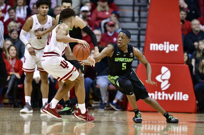 Indiana Hoosiers vs. Michigan State Spartans - 1/23/20 College Basketball Pick, Odds & Prediction