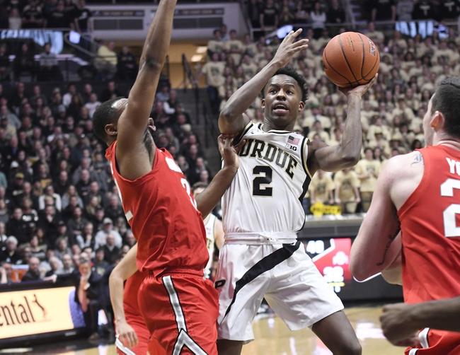 Ohio State vs. Purdue - 2/15/20 College Basketball Pick, Odds & Prediction