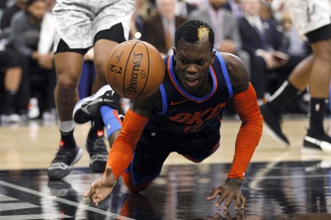 San Antonio Spurs vs. Oklahoma City Thunder - 11/7/19 NBA Pick, Odds, and Prediction