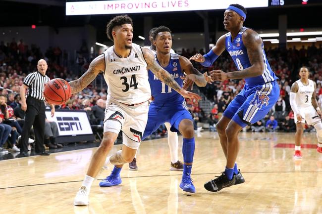Memphis Tigers vs. Cincinnati Bearcats - 1/16/20 College Basketball Pick, Odds & Prediction