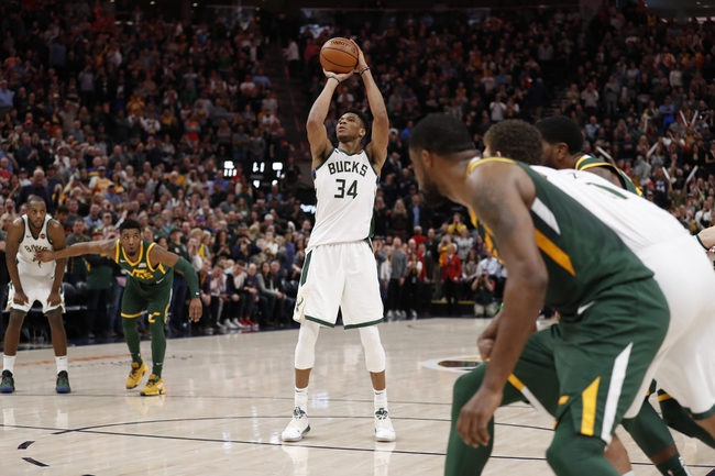 Utah Jazz vs. Milwaukee Bucks - 10/9/19 NBA Pick, Odds, and Prediction