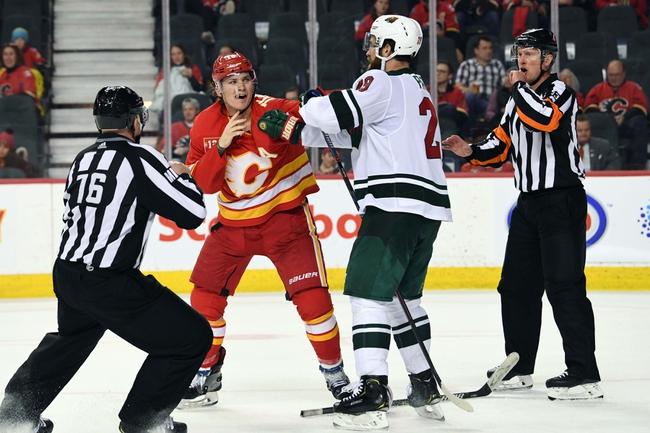 Minnesota Wild vs. Calgary Flames - 12/23/19 NHL Pick, Odds, and Prediction