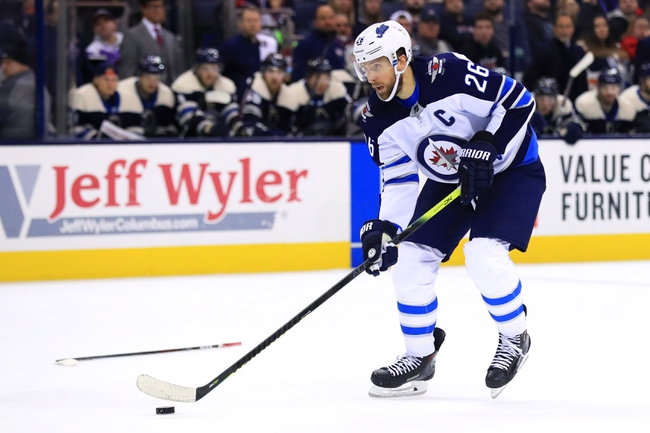 Winnipeg Jets vs. Columbus Blue Jackets - 11/23/19 NHL Pick, Odds, and Prediction