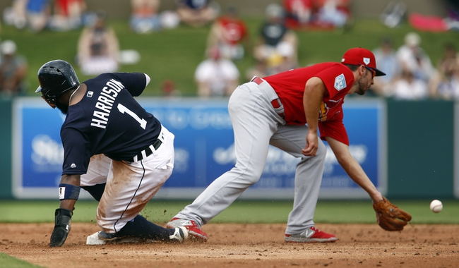St. Louis Cardinals vs. Detroit Tigers Game 2 - 9/10/20 MLB Pick, Odds, and Prediction