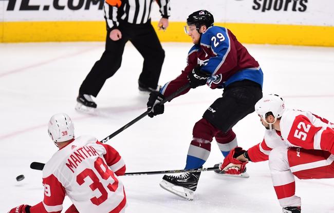 Colorado Avalanche vs. Detroit Red Wings - 1/20/20 NHL Pick, Odds & Prediction