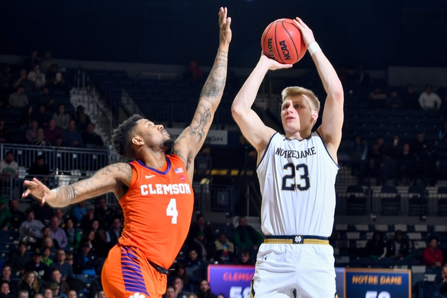 Clemson vs. Notre Dame - 2/9/20 College Basketball Pick, Odds, and Prediction