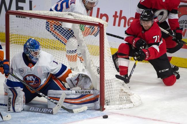 Ottawa Senators vs. New York Islanders - 10/25/19 NHL Pick, Odds, and Prediction