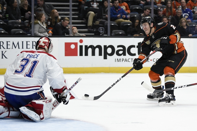 Montreal Canadiens vs. Anaheim Ducks - 2/6/20 NHL Pick, Odds & Prediction