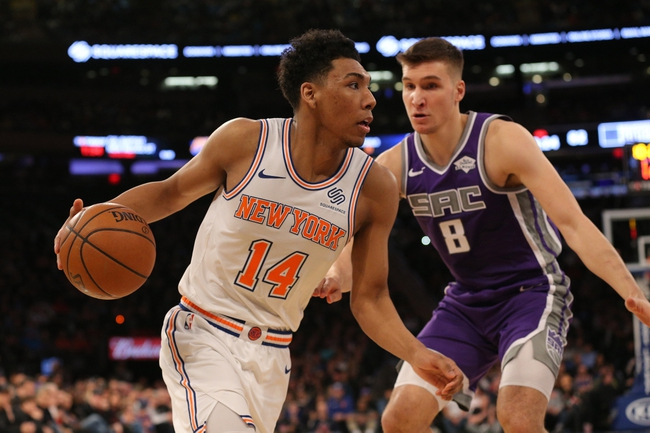 New York Knicks vs. Sacramento Kings - 11/3/19 NBA Pick, Odds, and Prediction