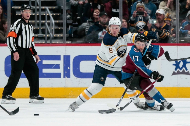 Buffalo Sabres vs. Colorado Avalanche - 2/4/20 NHL Pick, Odds & Prediction
