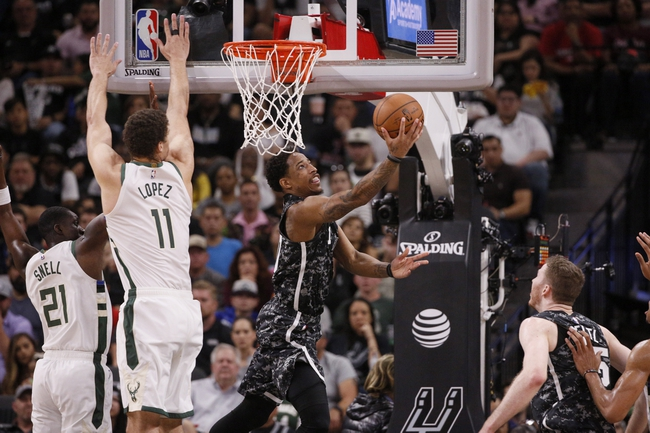 Milwaukee Bucks vs. San Antonio Spurs - 1/4/20 NBA Pick, Odds, and Prediction