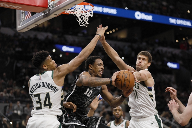 Milwaukee Bucks vs. San Antonio Spurs - 1/4/20 NBA Pick, Odds & Prediction