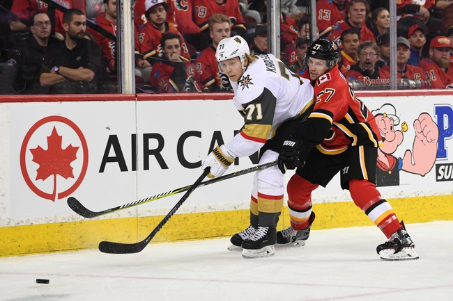 Vegas Golden Knights vs. Calgary Flames - 10/12/19 NHL Pick, Odds, and Prediction