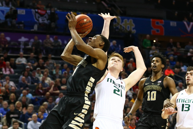 Miami vs. Wake Forest - 2/15/20 College Basketball Pick, Odds, and Prediction