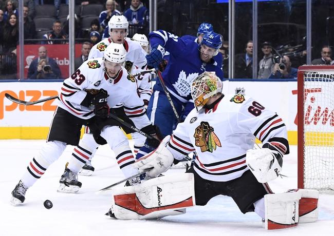 Chicago Blackhawks vs. Toronto Maple Leafs - 11/10/19 NHL Pick, Odds, and Prediction