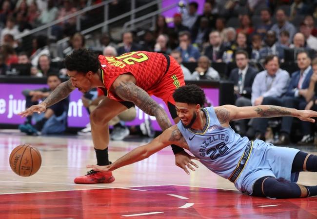 Atlanta Hawks vs. Memphis Grizzlies - 3/2/20 NBA Pick, Odds, and Prediction