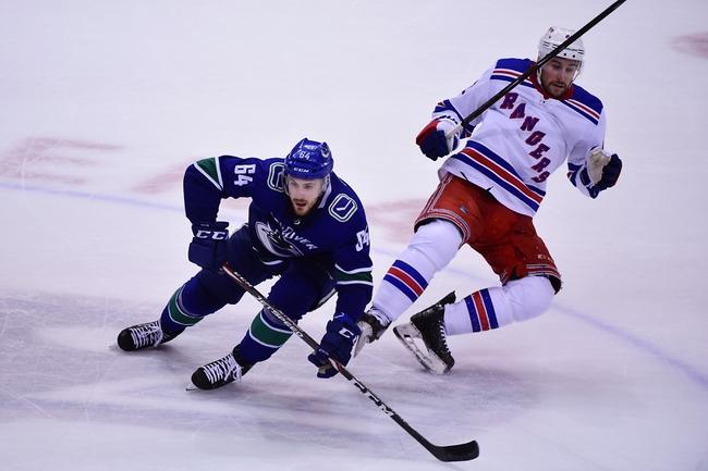 New York Rangers vs. Vancouver Canucks - 10/20/19 NHL Pick, Odds, and Prediction