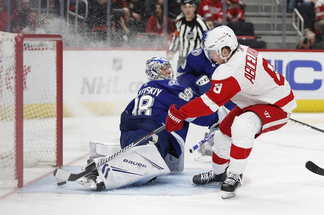 Detroit Red Wings vs. Tampa Bay Lightning - 3/8/20 NHL Pick, Odds, and Prediction