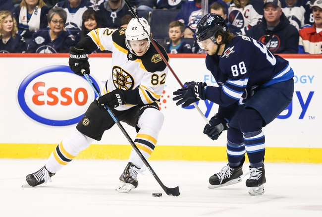 Boston Bruins vs. Winnipeg Jets - 1/9/20 NHL Pick, Odds & Prediction