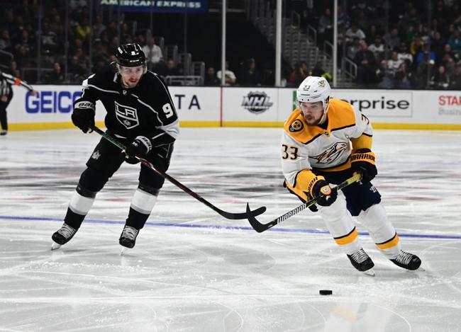 Los Angeles Kings vs. Nashville Predators - 10/12/19 NHL Pick, Odds, and Prediction
