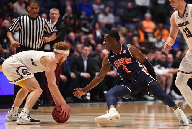 Auburn Vs South Carolina 1 22 20 College Basketball Pick