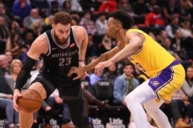 Los Angeles Lakers vs. Detroit Pistons - 1/5/20 NBA Pick, Odds, and Prediction