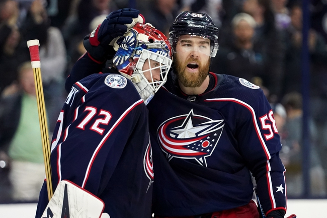 Carolina Hurricanes vs. Columbus Blue Jackets - 10/12/19 NHL Pick, Odds, and Prediction