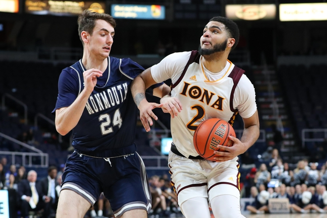 Iona vs. Monmouth - 1/26/20 College Basketball Pick, Odds, and Prediction