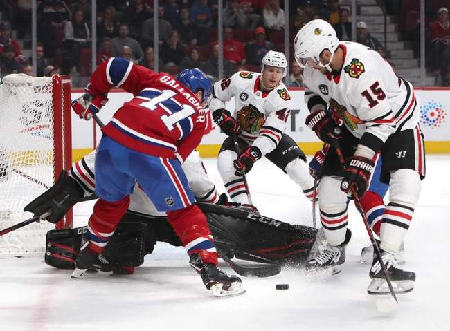 Montreal Canadiens vs. Chicago Blackhawks - 1/15/20 NHL Pick, Odds, and Prediction