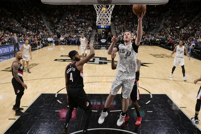San Antonio Spurs vs. Portland Trail Blazers - 10/28/19 NBA Pick, Odds, and Prediction