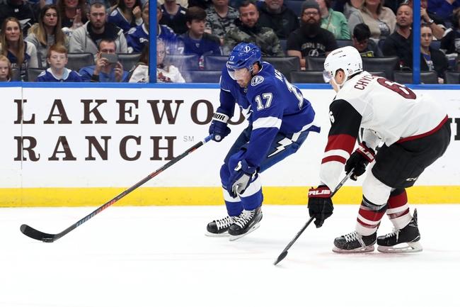 Tampa Bay Lightning vs. Arizona Coyotes - 1/9/20 NHL Pick, Odds, and Prediction
