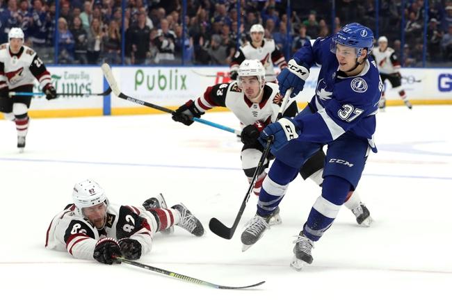Tampa Bay Lightning vs. Arizona Coyotes - 1/9/20 NHL Pick, Odds & Prediction