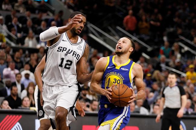 Golden State Warriors vs. San Antonio Spurs - 11/1/19 NBA Pick, Odds, and Prediction