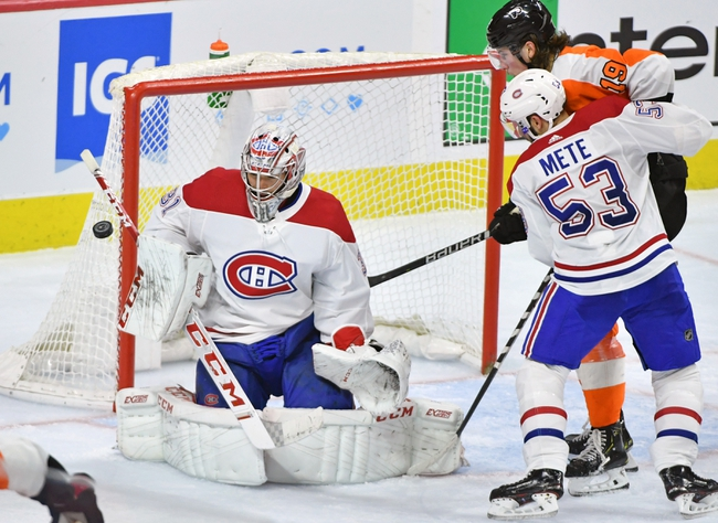 Philadelphia Flyers vs. Montreal Canadiens - 11/7/19 NHL Pick, Odds, and Prediction