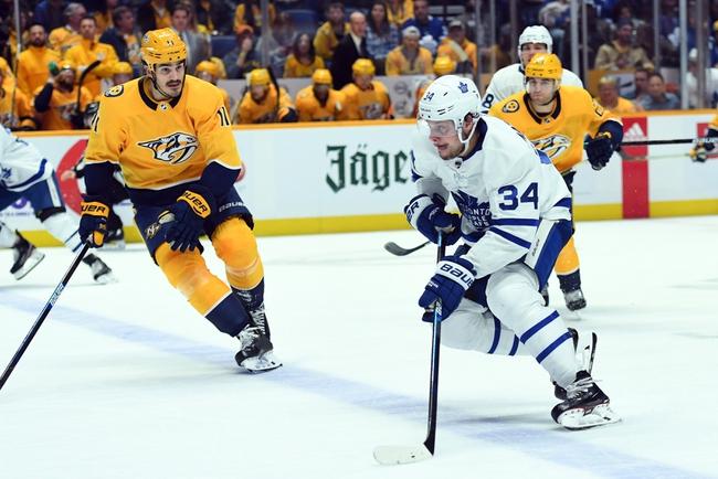 Nashville Predators vs. Toronto Maple Leafs - 1/27/20 NHL Pick, Odds & Prediction