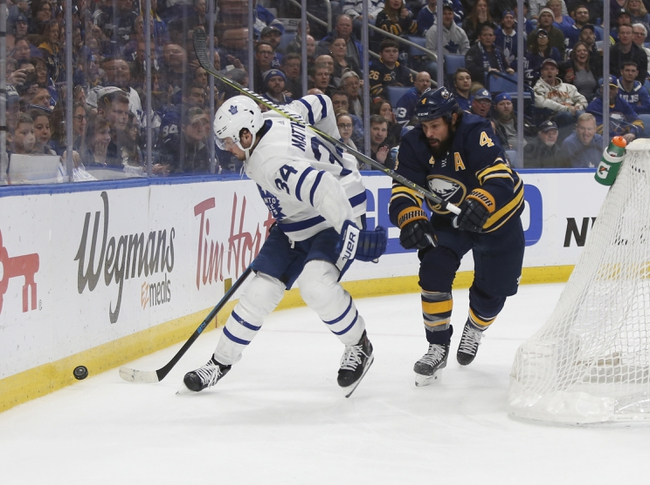 Buffalo Sabres vs. Toronto Maple Leafs - 11/29/19 NHL Pick, Odds, and Prediction