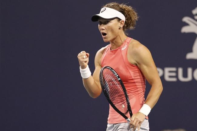 Samantha Stosur vs. Nina Stojanovic - 9/19/19 Guangzhou Open Tennis Pick, Odds, and Prediction