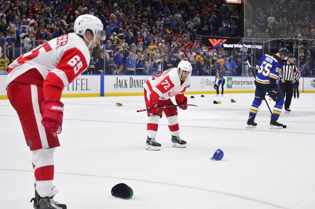 Detroit Red Wings vs. St. Louis Blues - 10/27/19 NHL Pick, Odds, and Prediction