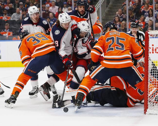 Edmonton Oilers vs. Columbus Blue Jackets - 3/7/20 NHL Pick, Odds, and Prediction