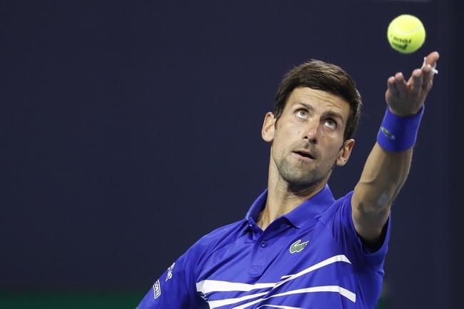 Vienna Open: Novak Djokovic vs. Filip Krajinovic 10/27/20 Tennis Prediction