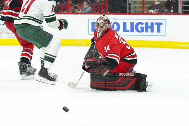 Minnesota Wild vs. Carolina Hurricanes - 11/16/19 NHL Pick, Odds, and Prediction