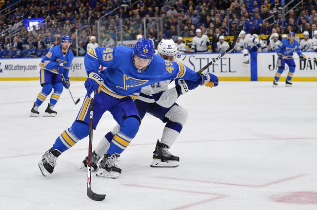 St. Louis Blues vs. Tampa Bay Lightning - 11/19/19 NHL Pick, Odds, and Prediction