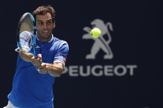 Albert Ramos Vinolas vs. Adrian Mannarino - 9/28/19 Zhuhai Open Tennis Pick, Odds, and Prediction