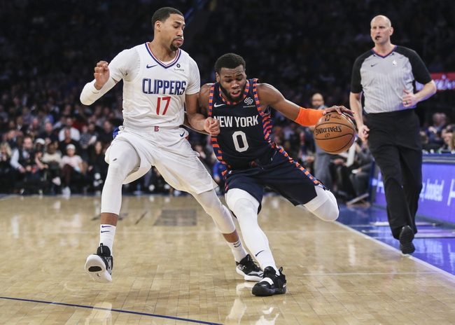 Los Angeles Clippers vs. New York Knicks - 1/5/20 NBA Pick, Odds & Prediction