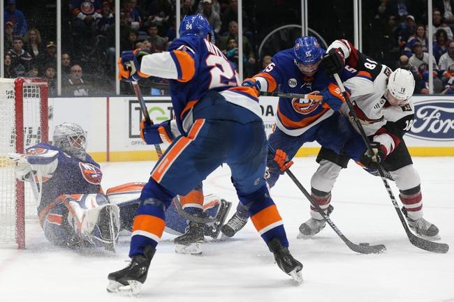 Arizona Coyotes vs. New York Islanders - 2/17/20 NHL Pick, Odds & Prediction